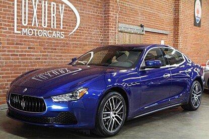 2016 Maserati Ghibli for sale 100837685