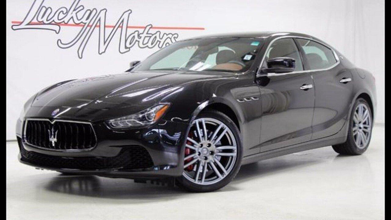 2016 Maserati Ghibli S Q4 for sale 100881095