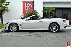 2016 Maserati GranTurismo Convertible for sale 100778669