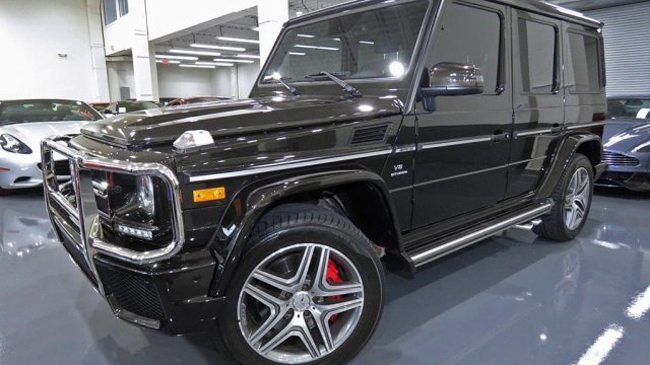 2016 Mercedes-Benz G63 AMG 4MATIC for sale 101019127