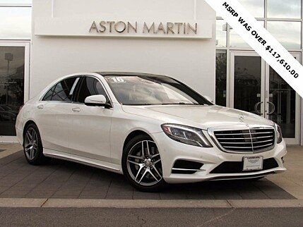 2016 Mercedes-Benz S550 4MATIC Sedan for sale 100910471
