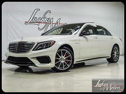 2016 Mercedes-Benz S63 AMG 4MATIC Sedan for sale 100843816