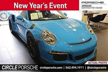 2016 Porsche 911 GT3 RS Coupe for sale 100955478