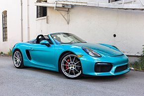 2016 Porsche Boxster Spyder for sale 101033735