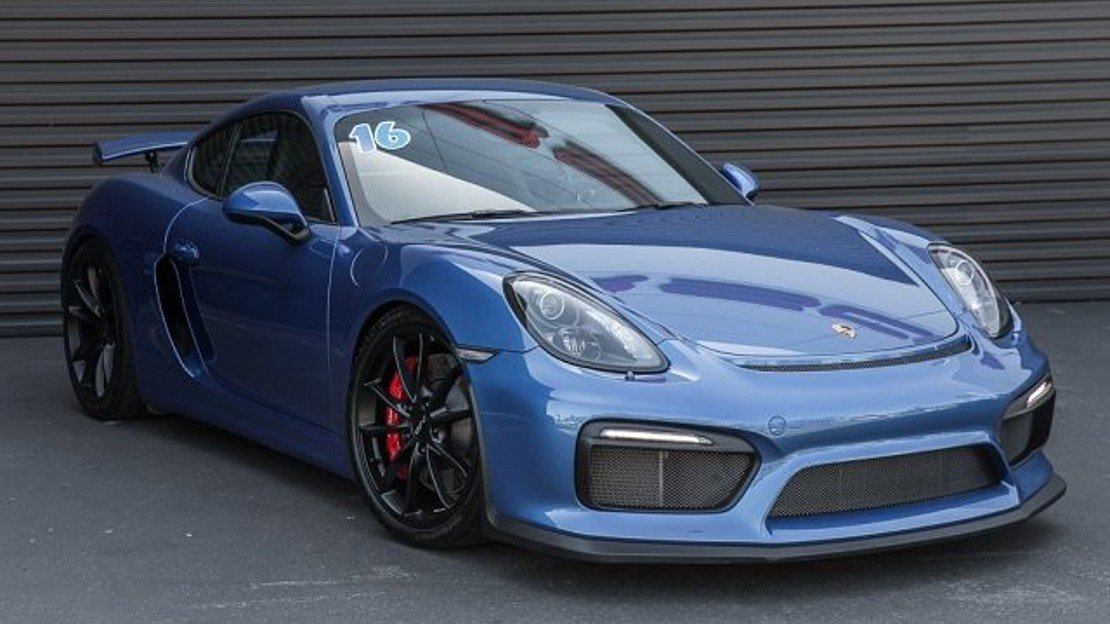 2016 Porsche Cayman GT4 for sale 100992647