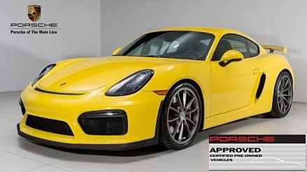 2016 Porsche Cayman GT4 for sale 100870225