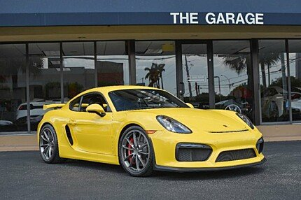 2016 Porsche Cayman GT4 for sale 100870721