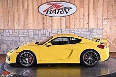 2016 Porsche Cayman GT4 for sale 100956567