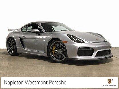 2016 Porsche Cayman GT4 for sale 101004956