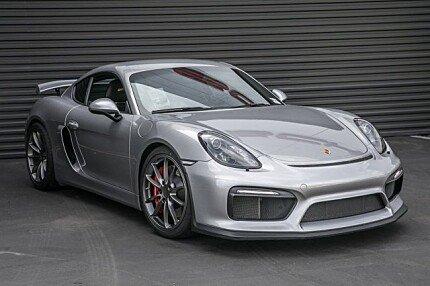 2016 Porsche Cayman GT4 for sale 101018905