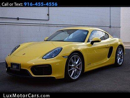 2016 Porsche Cayman for sale 101040210