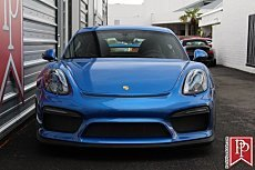 2016 Porsche Cayman GT4 for sale 101041137