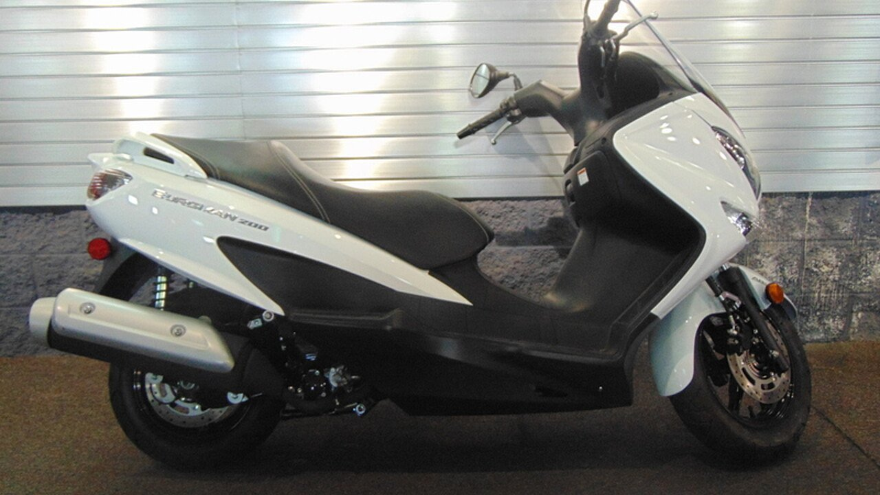 2016 Suzuki Burgman 200 for sale 200451784