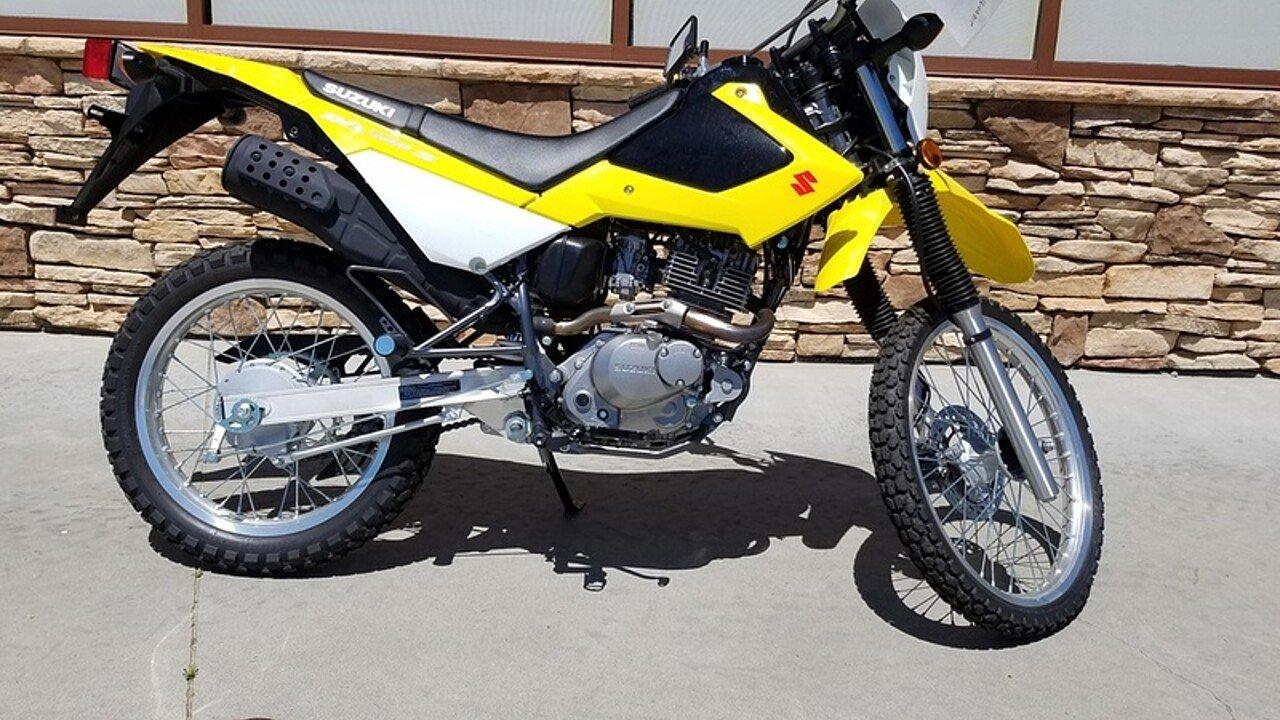 2016 Suzuki DR200S for sale 200434809