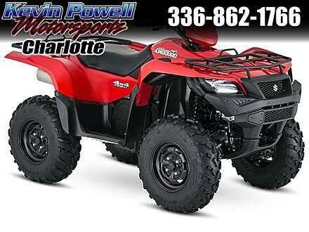 2016 Suzuki KingQuad 750 for sale 200459662