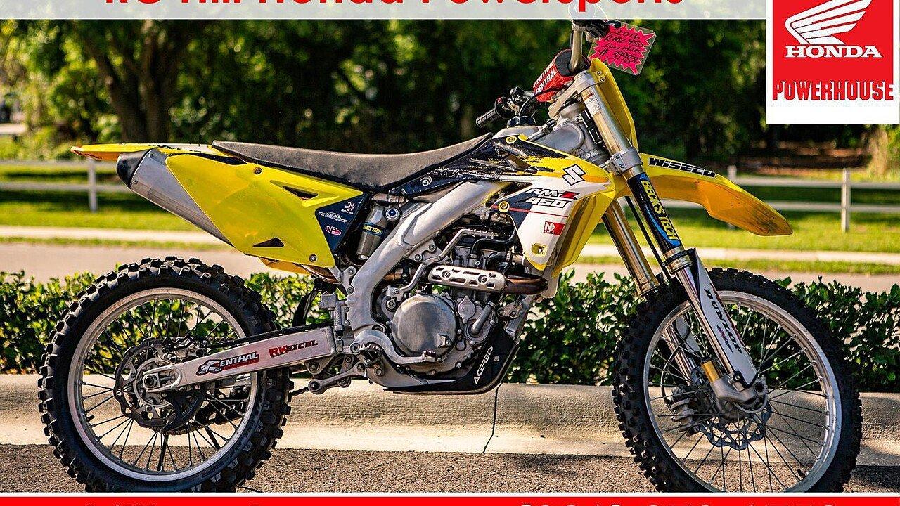 2016 Suzuki RM-Z450 for sale 200559992