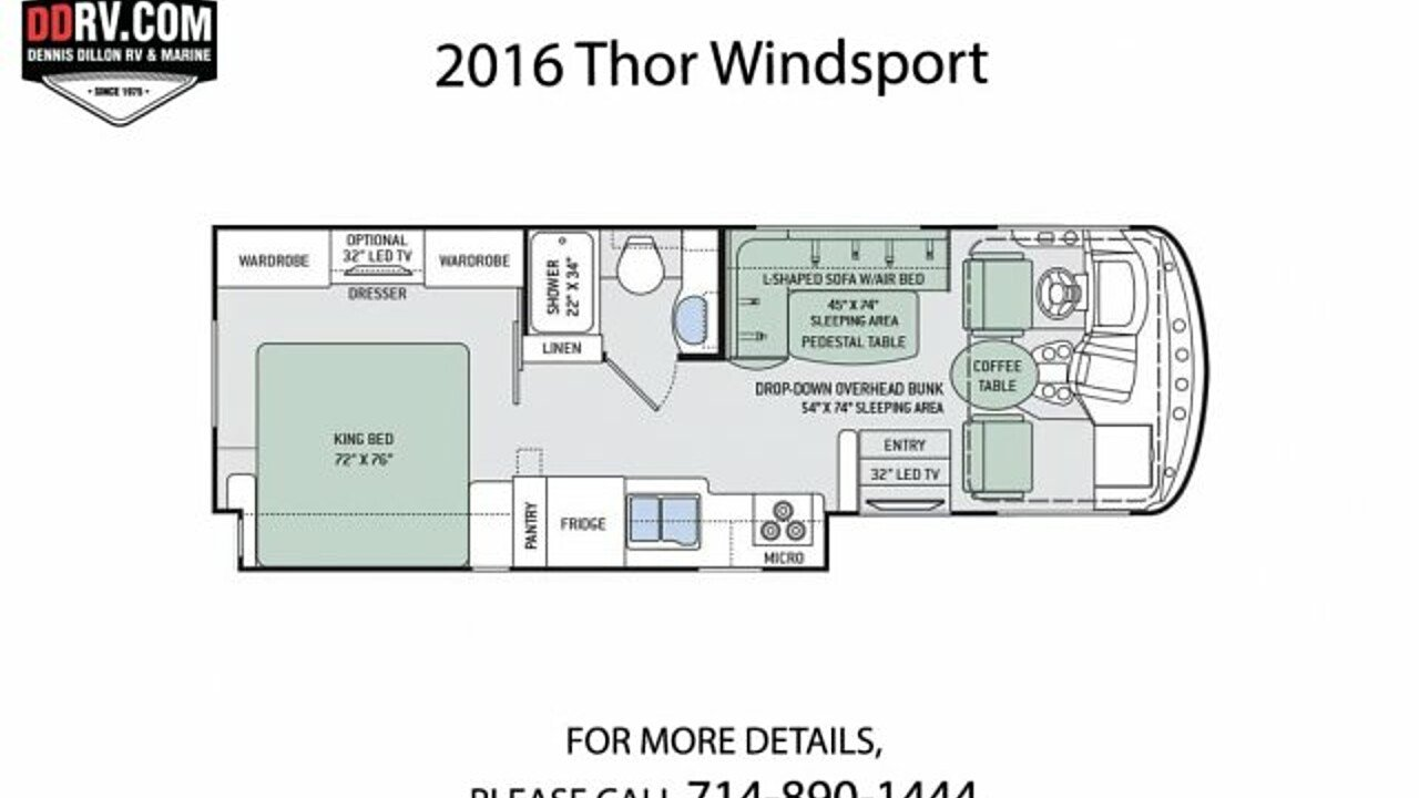2016 Thor Windsport for sale 300158990