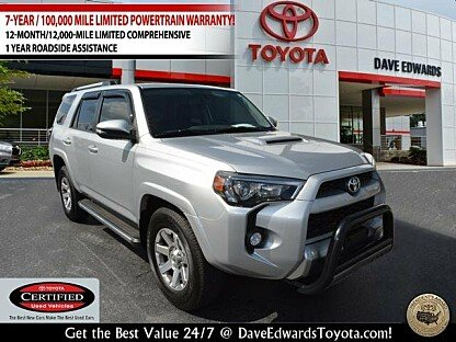 2016 Toyota 4Runner 4WD for sale 100912867