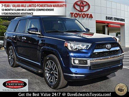 2016 Toyota 4Runner 4WD for sale 100960248