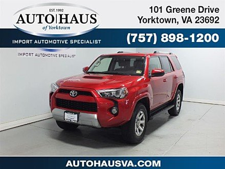 2016 Toyota 4Runner 4WD for sale 100986522
