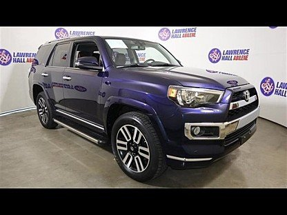 2016 Toyota 4Runner 4WD for sale 100987679