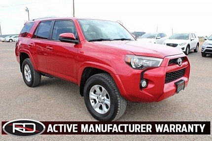 2016 Toyota 4Runner 4WD for sale 100993611