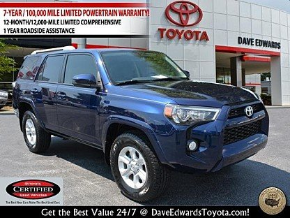 2016 Toyota 4Runner 2WD for sale 101001105