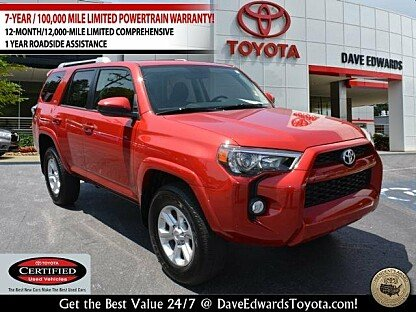2016 Toyota 4Runner 4WD for sale 101018653