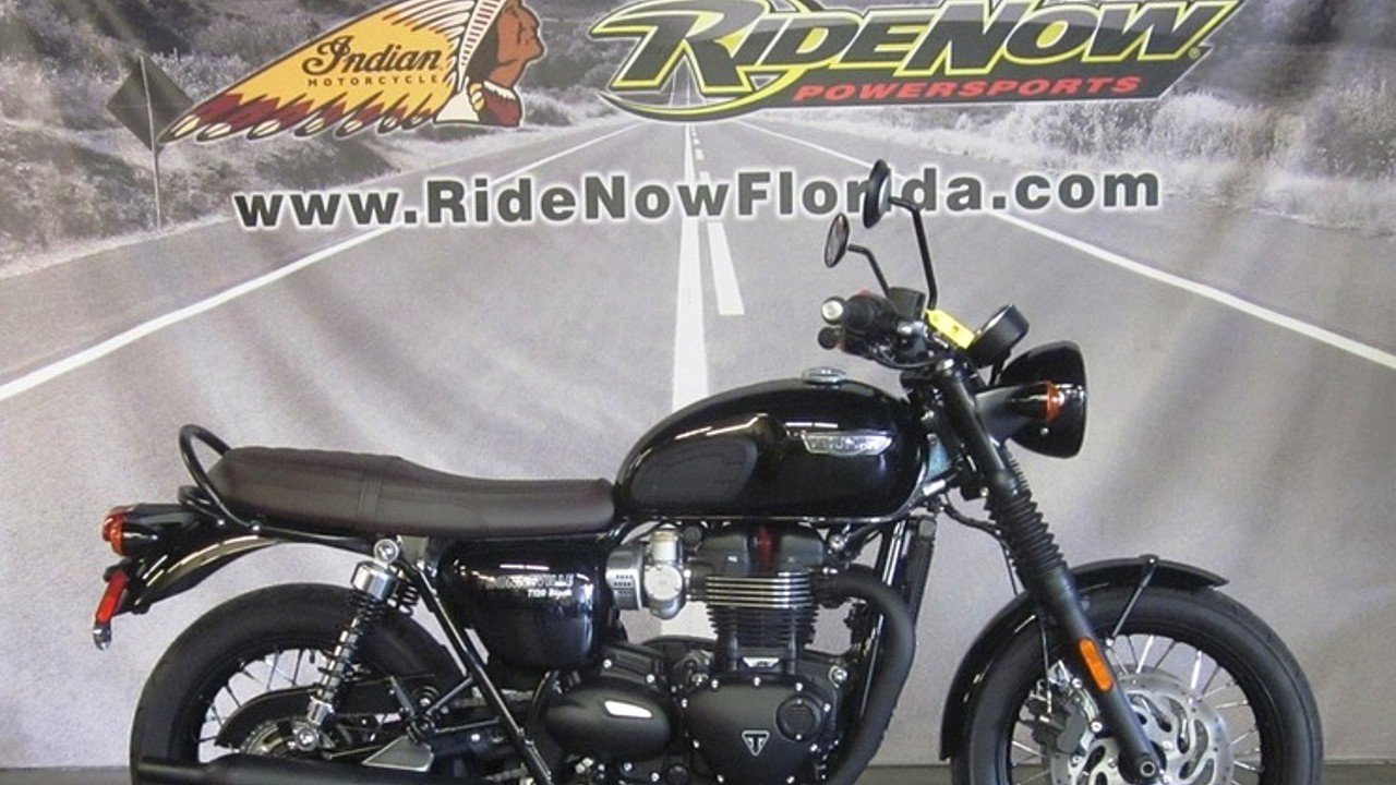 2016 Triumph Bonneville 1200 T120 for sale 200611805
