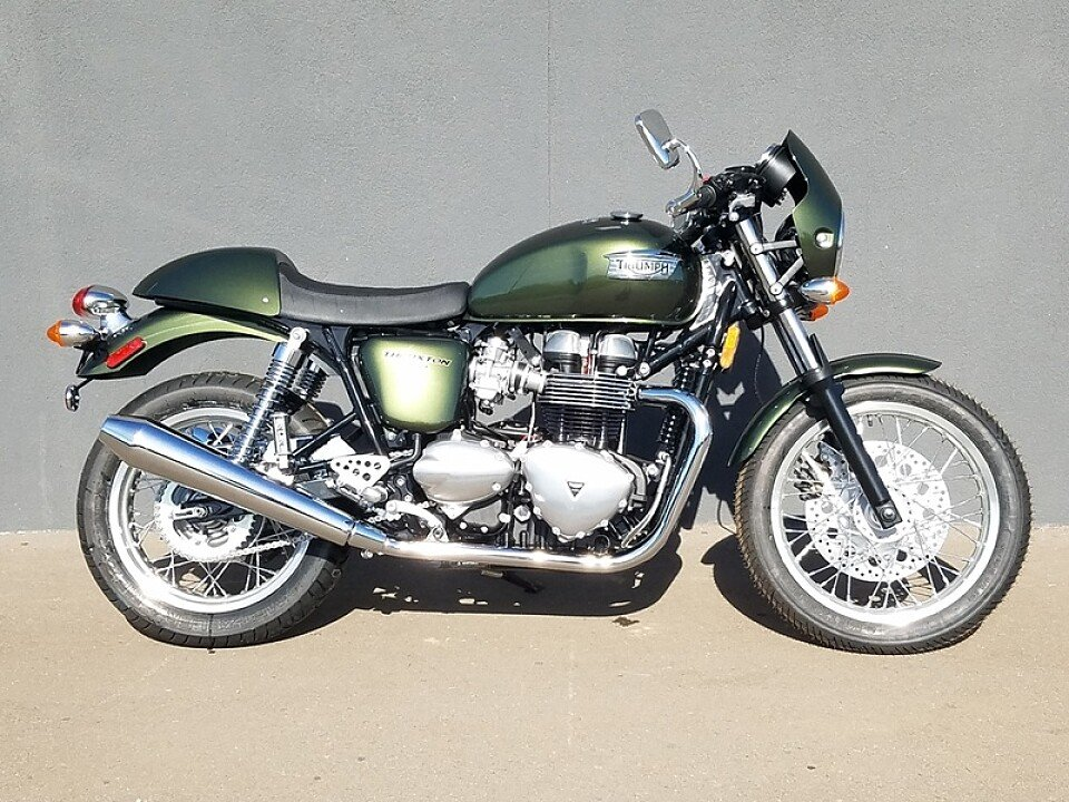 2016 triumph thruxton for sale near chandler arizona 85286 motorcycles on autotrader. Black Bedroom Furniture Sets. Home Design Ideas