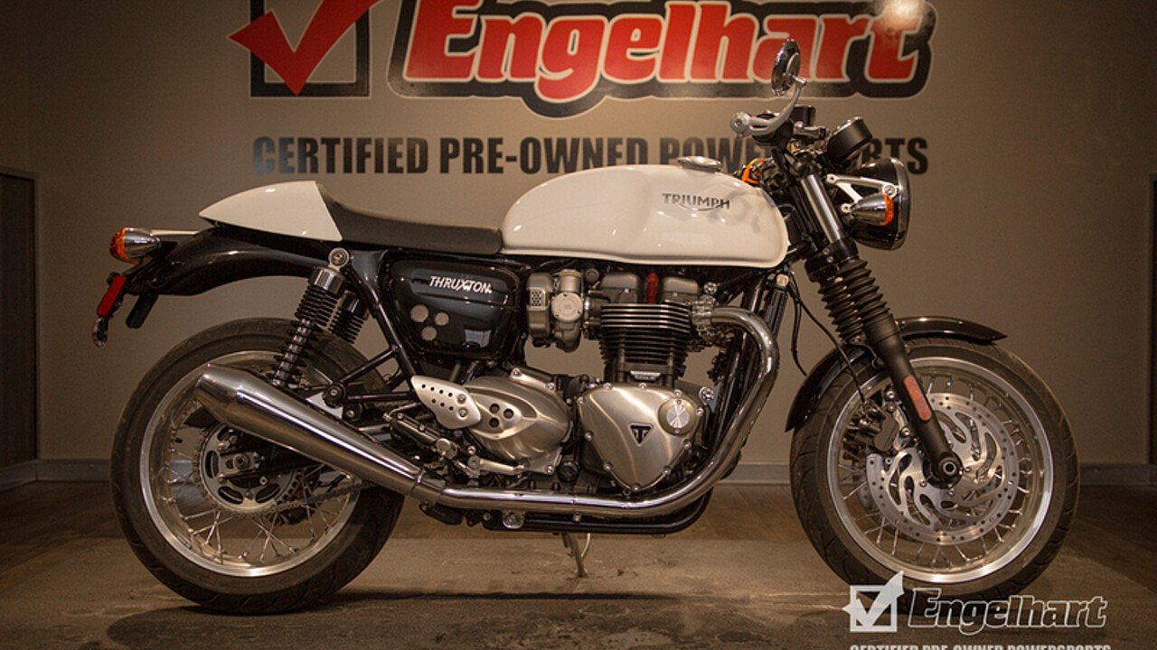 2016 Triumph Thruxton for sale 200582136