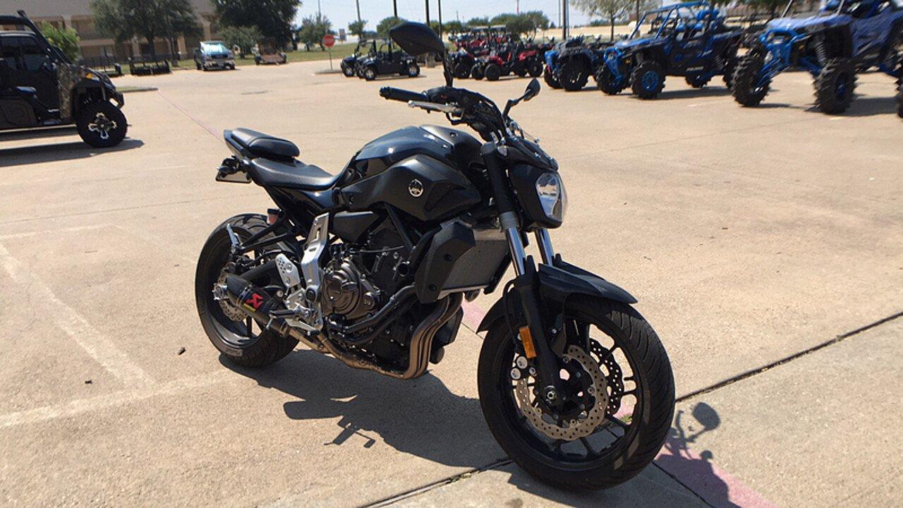 2016 Yamaha FZ-07 for sale 200493329
