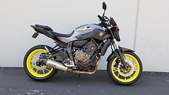 2016 Yamaha FZ-07 for sale 200622875