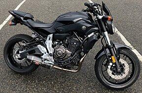 2016 Yamaha FZ-07 for sale 200534063