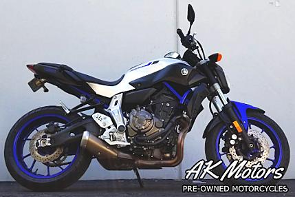 2016 Yamaha FZ-07 for sale 200564838
