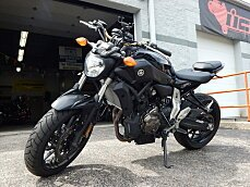2016 Yamaha FZ-07 for sale 200578200