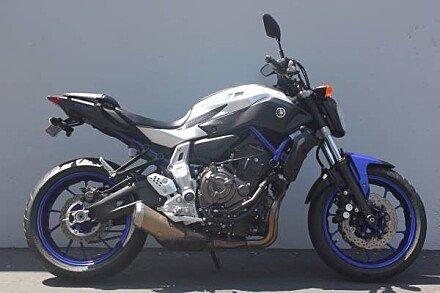 2016 Yamaha FZ-07 for sale 200585993