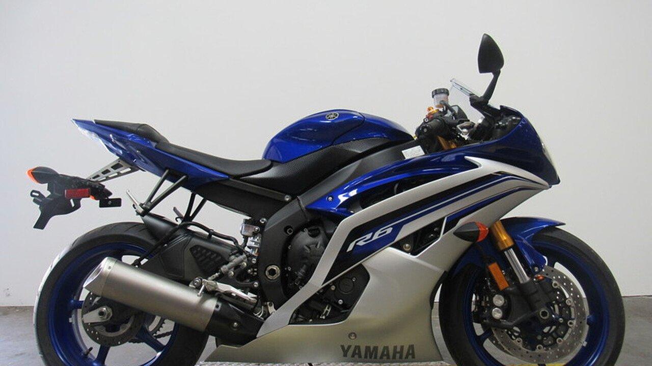 2016 Yamaha YZF-R6 for sale 200475220