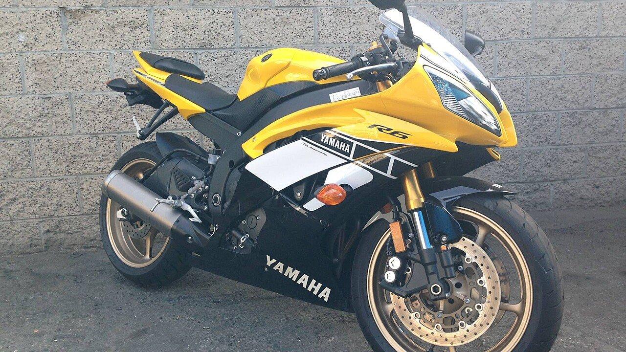 2016 Yamaha YZF-R6 for sale 200521541