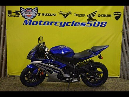 2016 Yamaha YZF-R6 for sale 200509484