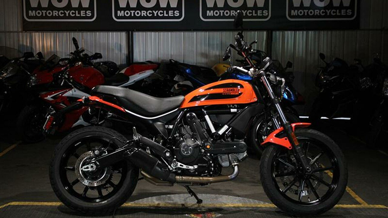 2016 ducati Scrambler for sale 200591477