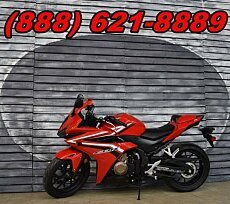 2016 honda CBR500R for sale 200614737