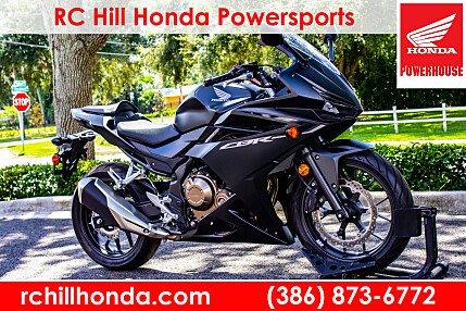 2016 honda CBR500R for sale 200629659