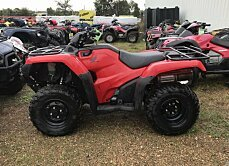 2016 honda FourTrax Foreman for sale 200629213