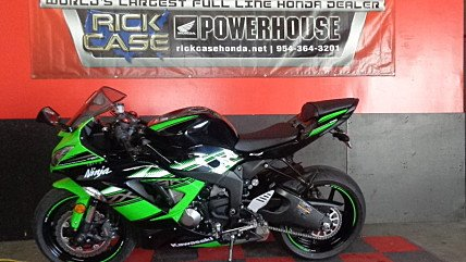 2016 kawasaki Ninja ZX-6R for sale 200613667