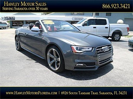 2017 Audi S5 3.0T Cabriolet for sale 100994823