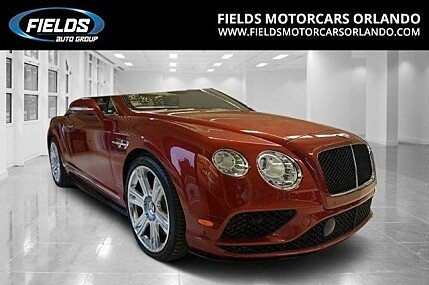 2017 Bentley Continental GT V8 S Convertible for sale 100836128