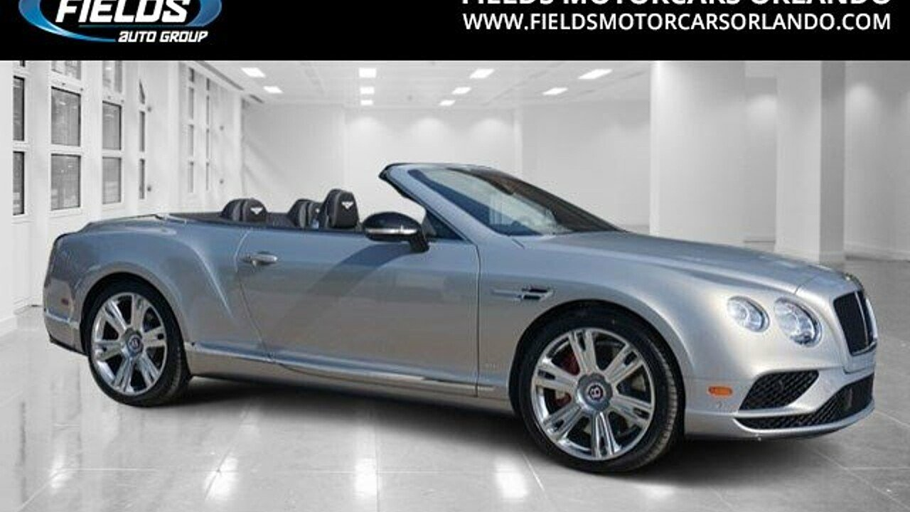 2017 Bentley Continental GT V8 S Convertible for sale 100815533