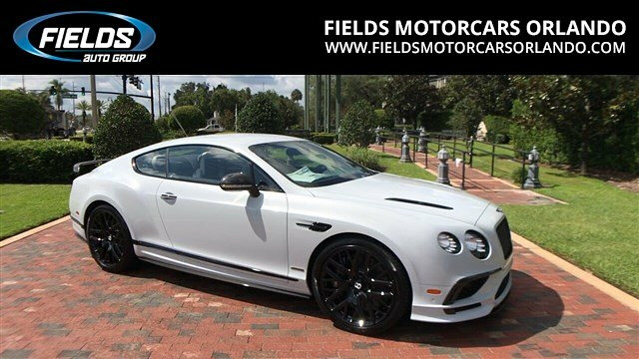 2017 Bentley Continental for sale 100894949