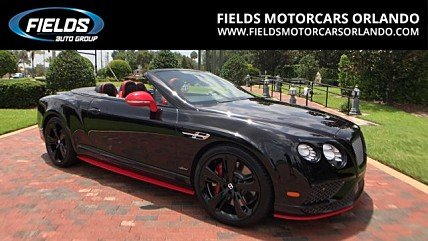 2017 Bentley Continental GT Speed Convertible for sale 100815534